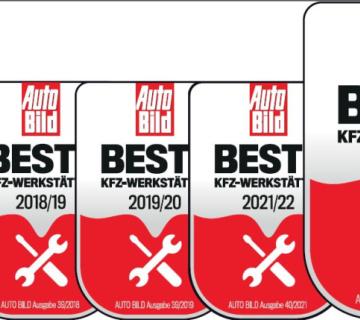 Opel Serviceurkunde 2016